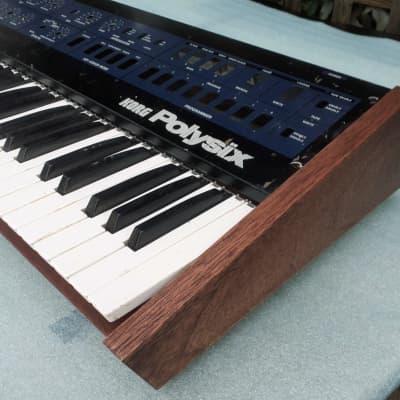 Korg Polysix Wooden Case Analog Synthesizer Meranti Wood Excellent Build