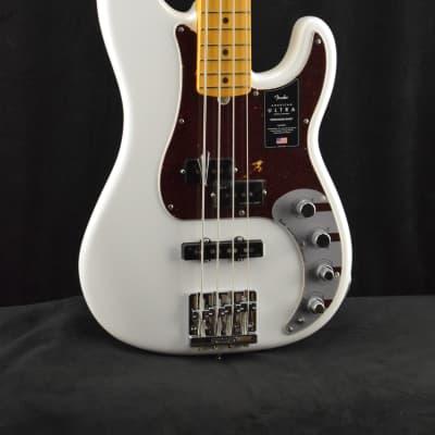 Fender American Ultra Precision Bass MN Arctic Pearl