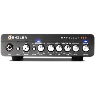 Genzler Amplification MG-350 Magellan 350 Compact 350-Watt Bass Amp Head