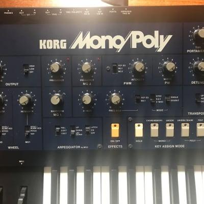 Korg Mono/Poly Analog Synth with MIDI