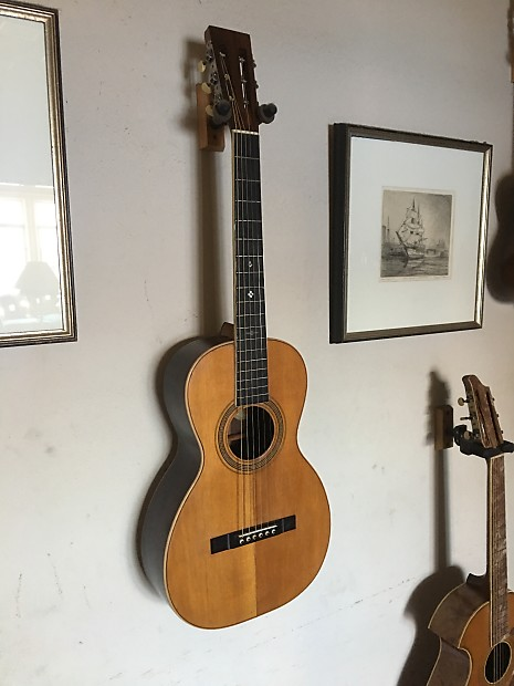 Washburn parlor guitar #123 1897 natural