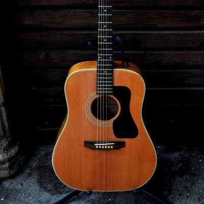 Nashville N44D 1979 Made In Japan very rare acoustic guitar birdseye maple for sale