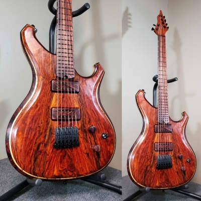 Barlow Guitars Falcon II  2020 Cocobolo / Camatillo Rosewood