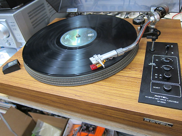 Rotel RP-2500 Turntable Auto Reject, Empire 2000 Cartridge, Serviced, Ex  Sound, Quality, Japan, Beau