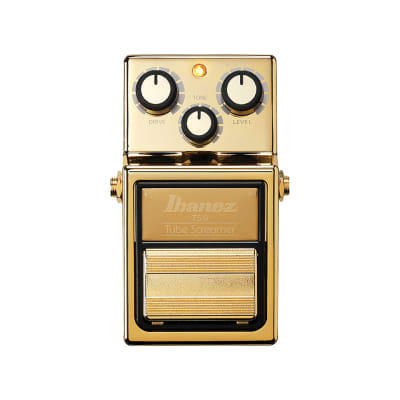 Ibanez Limited Edition TS9 Tube Screamer Gold 2019