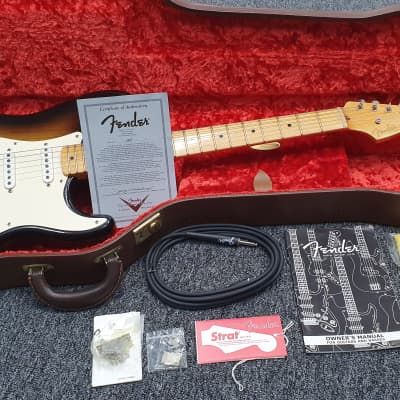 Fender Custom Shop 2004 Yuriy Shishkov Masterbuilt 50th Anniversary 1954 Stratocaster (2C Sunburst) for sale