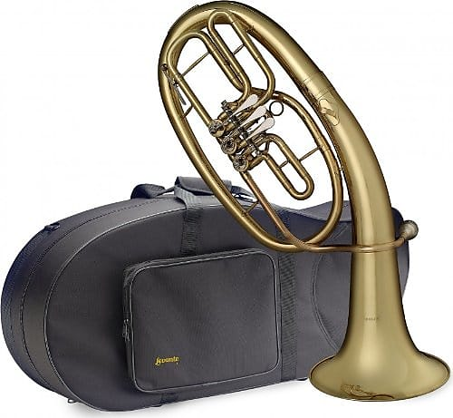 Brass Stagg Bb Three Valve Baritone Horn Brass Body Clear Lacquer Finish Fast Postage Alto Horns