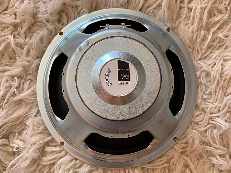 celestion g12 n super 65 guitar speaker 8 ohm 12 reverb. Black Bedroom Furniture Sets. Home Design Ideas