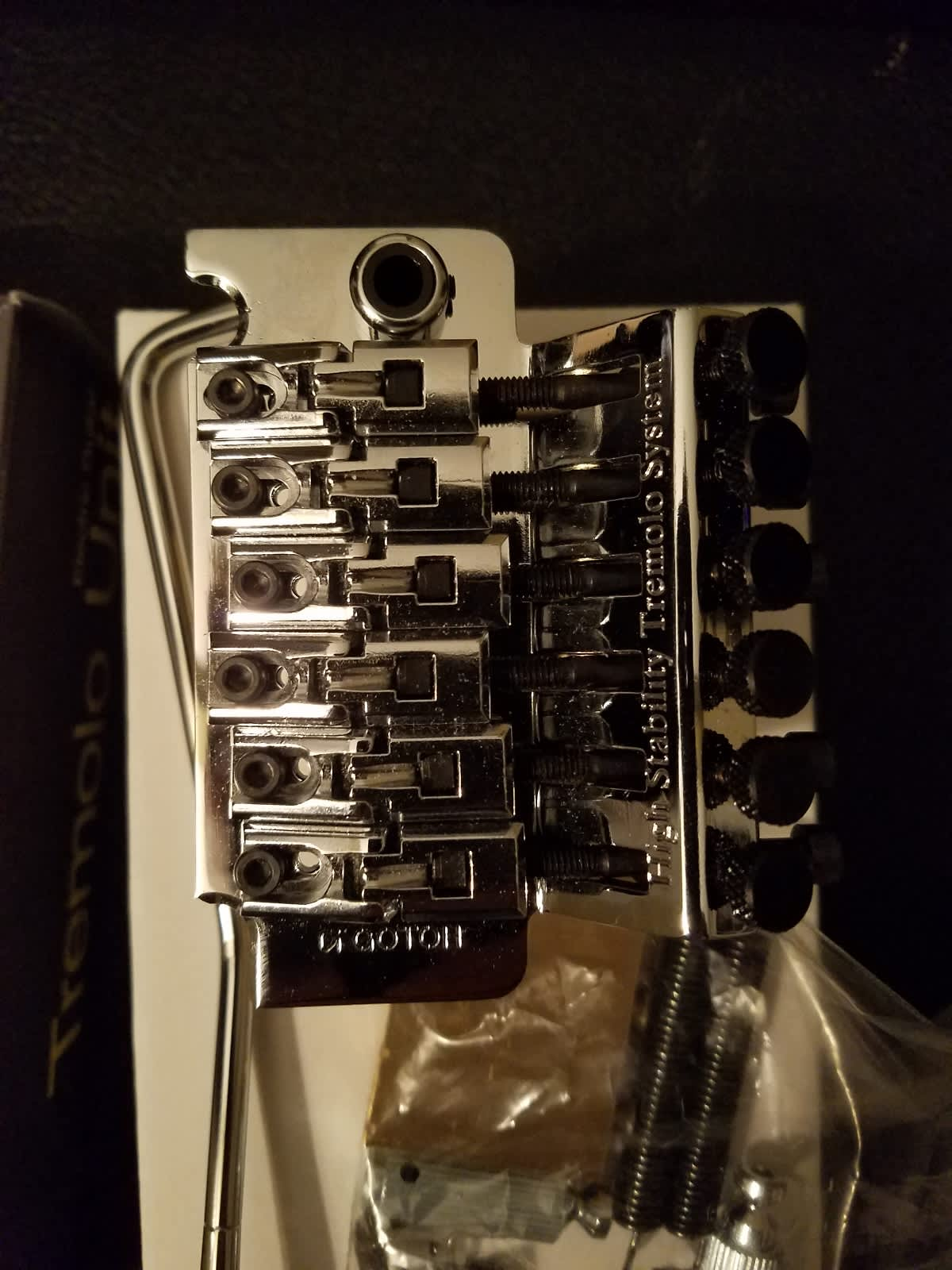 Gotoh GE1996T Floyd Rose w Brass Big Block