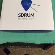 Sigitech SDRUM Strummable Drums Drum Machine Pedal  Drum Machine 2017 white