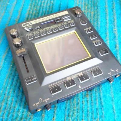 Korg Kaossilator Pro + Plus Dynamic Phrase Synthesizer KO-1 w/ AC Adapter - D421