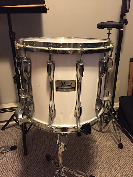 Pearl Marching Snare 14x12 White