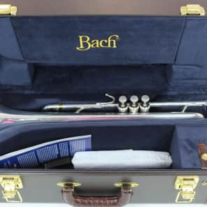 Bach LT180S77 Stradivarius New York Professional Model Bb Trumpet