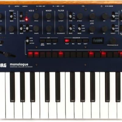 Korg monologue 25-Key Monophonic Analog Synthesizer (Blue)