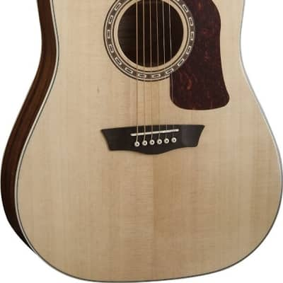 Washburn HD10S Heritage Series Dreadnought Acoustic Guitar - Natural Gloss for sale