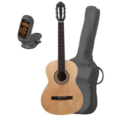 Artist CB4 Full Size Classical Nylon String Guitar + Bag and Tuner for sale