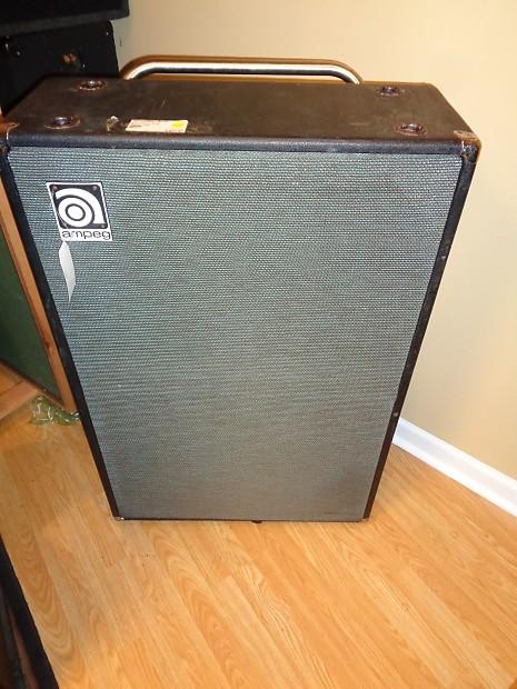 vintage ampeg v6b bass speaker cabinet reverb. Black Bedroom Furniture Sets. Home Design Ideas