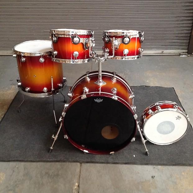 Camco Oak Lawn 1960s Sunburst Lacquer Finish Drum Doctors Reverb