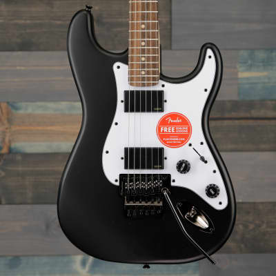 Fender Squier  Contemporary Active Stratocaster HH Laurel Fingerboard Flat Black for sale