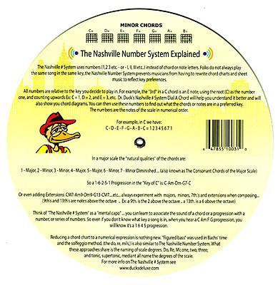 Dr Ducks Dial A Guitar Chord Chord Wheel Reverb