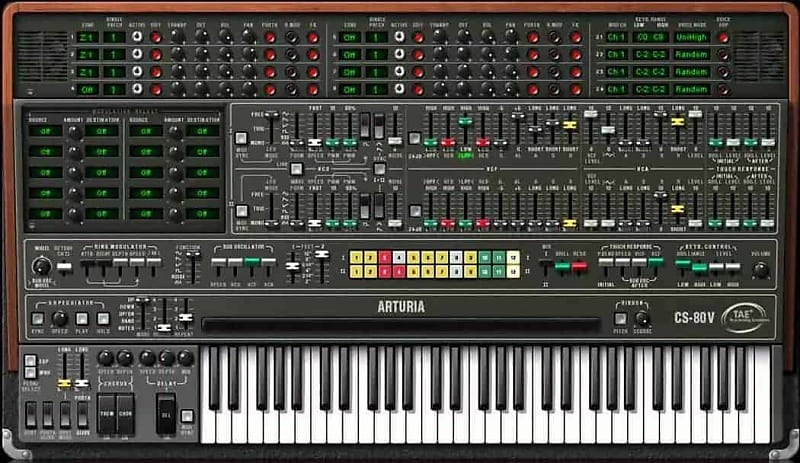 Arturia Yamaha CS-80 Virtual Synth (Electronic Download) AAX, VST, AU