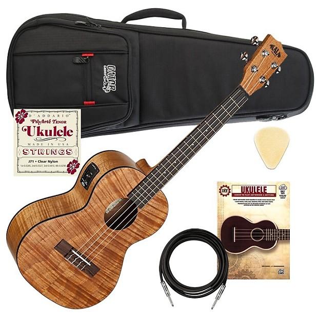 kala ka teme acoustic electric tenor ukulele satin uke reverb. Black Bedroom Furniture Sets. Home Design Ideas