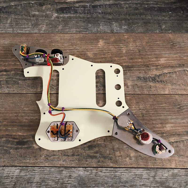 Fender Jaguar Wiring Harness 62 spec Vintage Luxe Cloth Wire | Reverb