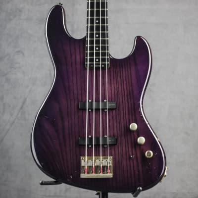 Hi class rare Blade Jazz bass B4 1990 Purple for sale