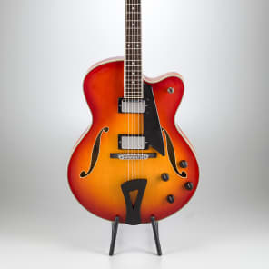 Comins GCS-2 Archtop Guitar 2018 Violin Burst for sale