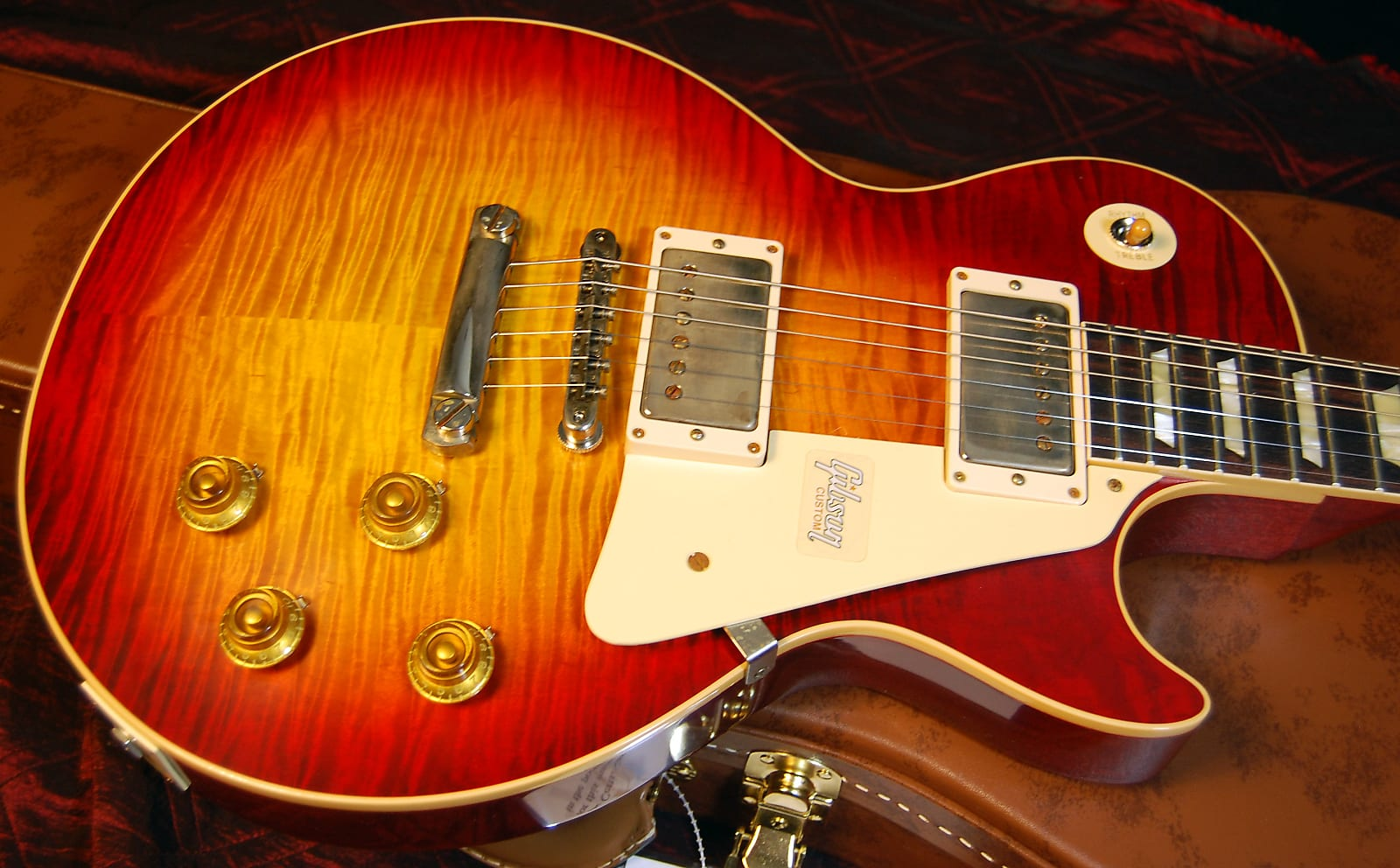 Mint! 2019 Gibson Custom 60th Anniversary 1959 Les Paul Standard VOS Factory Burst Authorized Dealer
