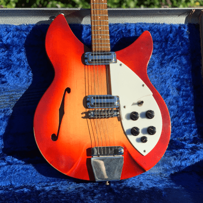 "1964 Rickenbacker Rose Morris ""1997"" Model Export Guitar w/ OHSC Pete Townshend 335 for sale"