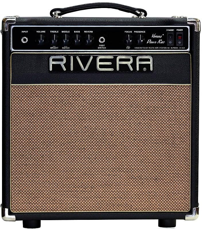 rivera venus deux recording 25 watt 1x12 acoustic and reverb. Black Bedroom Furniture Sets. Home Design Ideas