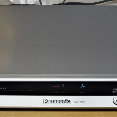 Panasonic Audio CD & DVD Player - Tested - Fast Reading / Plays most anything you throw at it