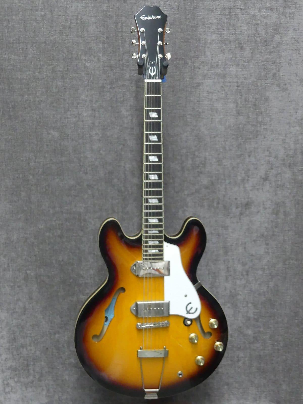 Epiphone E230td Inspired By John Lennon 1965 Casino Electric Guitar W Case