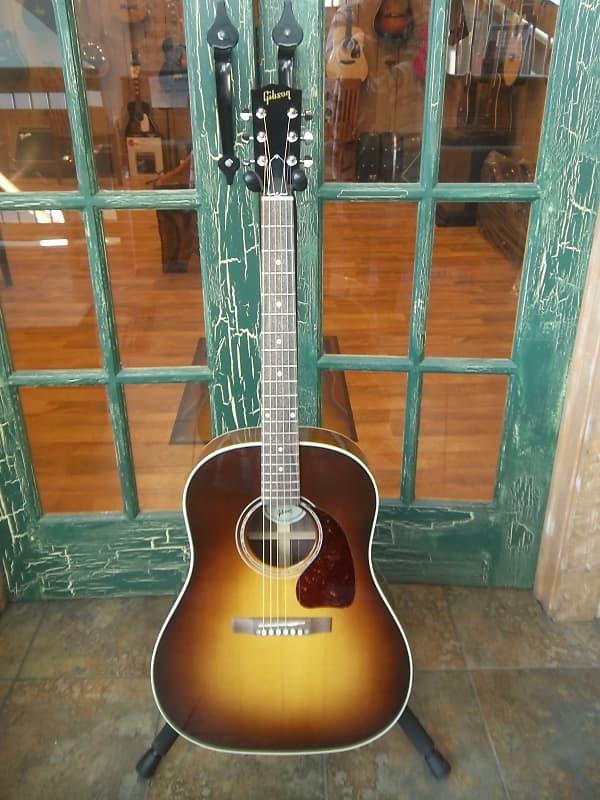 d7c634fef6 Gibson J15 J-15 Acoustic Electric Guitar Walnut Burst w/ | Reverb