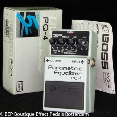 Boss PQ-4 Parametric Equalizer 1991 s/n ZC67201