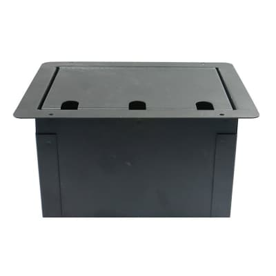 Elite Core Audio FBL-BLANK Large Recessed Floor Box with Blank Plate