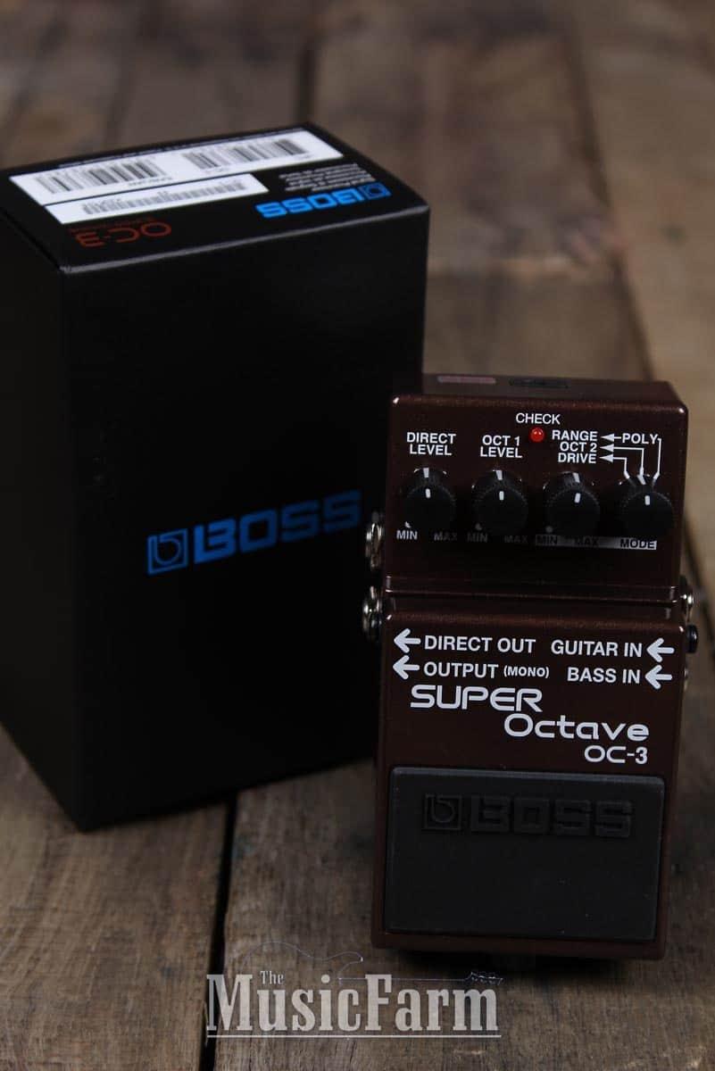 Reviews Boss OC-3 SUPER Octave - Audiofanzine