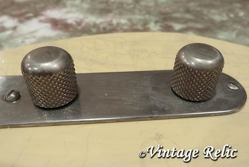aged KNOBS fit Fender /'52 /'51 USA Telecaster Esquire Pbass 1950s dome top RELIC
