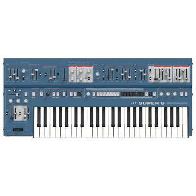 UDO Audio Super 6 12-Voice Polyphonic Binaural Analog-Hybrid Synthesizer