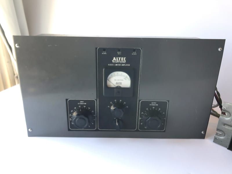 Altec 322C Tube Limiter Compressor with orig P511 tube psu   Serviced and  Sounds great!