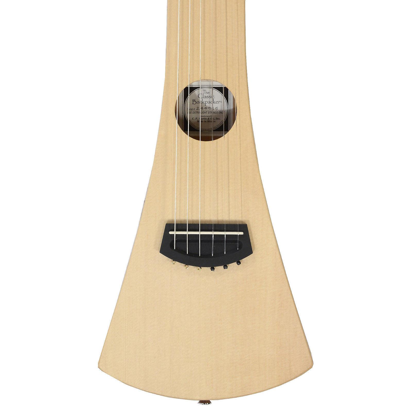 martin backpacker nylon string acoustic travel guitar. Black Bedroom Furniture Sets. Home Design Ideas