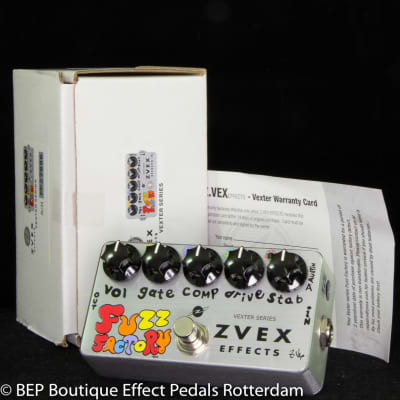 Zvex Fuzz Factory Vexter Series s/n FF27696, as used by the great Matt Bellamy MUSE