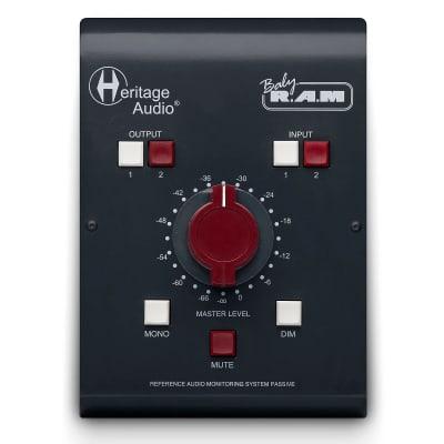 Heritage Audio Baby RAM Passive Desktop Monitor Controller