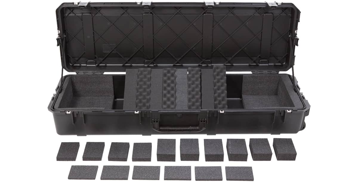Skb 88 note keyboard case for nord stage 2 ex88 yamaha for Yamaha cp4 stage 88 key stage piano