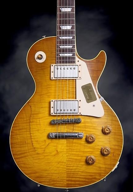 Gibson Custom Shop Bonamassa 59's Skinner Burst - VOS Dirty Lemon - LOW  Serial Number