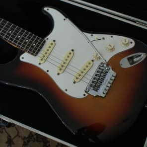Fender  Contemporary A Series Stratocaster '85-'86 Circa 3 Color Sunburst W/Fender Sys One Tremolo for sale