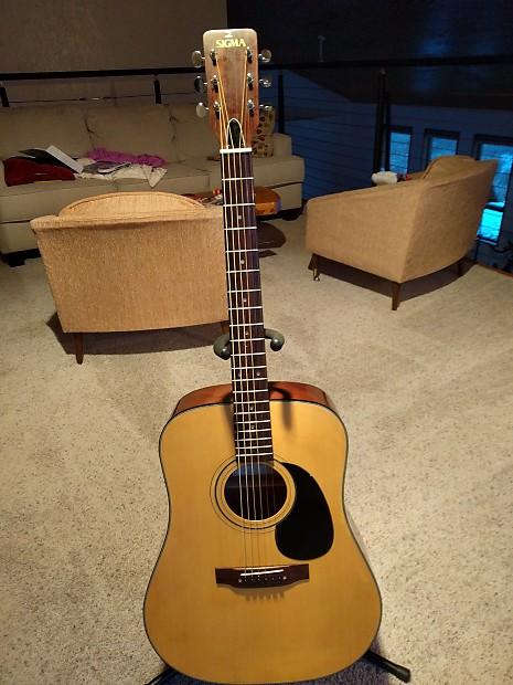 martin sigma dm 5 1970s mij natural acoustic guitar reverb. Black Bedroom Furniture Sets. Home Design Ideas
