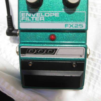 DOD FX25 Envelope Filter 1983 Flea Bootsy USA