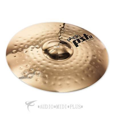 "Paiste 20"" PST 8 Reflector Rock Ride Cymbal"